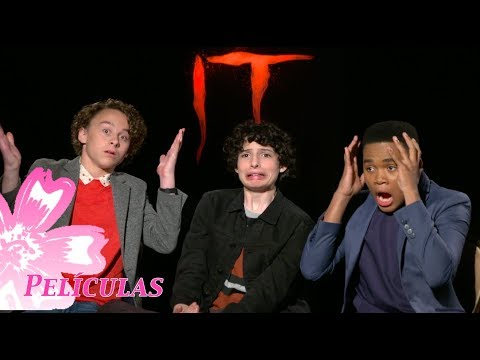 Find out what freaked out Finn Wolfhard, Wyatt Oleff & Chosen Jacobs from