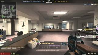 CSGO Competitive: Dominating on Office Thumbnail