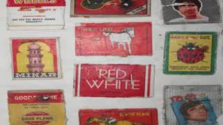 147 Matchbox Labels Collection -- Assam --- India --- Childhood Hobbies