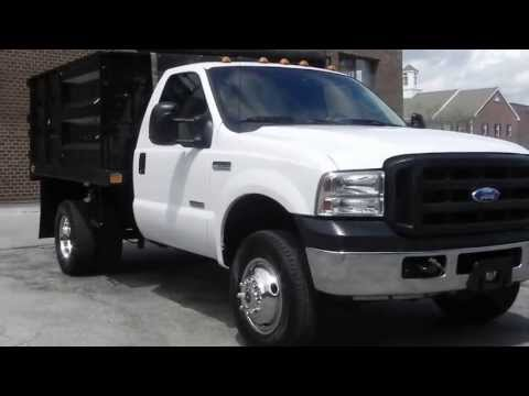 2003 Ford F350 Xl Super Duty 9 Utility Truck For Sale