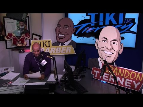 Tiki Barber opens the show with a segment on Tom Coughlin