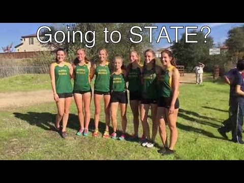 Placer High School Cross Country Sac-Joaquin Finals 2016