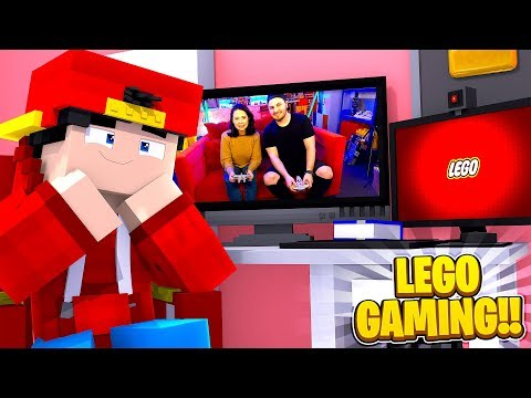 Minecraft LEGO - ROPO & CARLY DID A VIDEO WITH LEGO GAMING!!