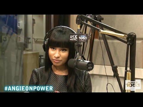 Nicki Minaj Full Interview with Angie Martinez Power 105.1