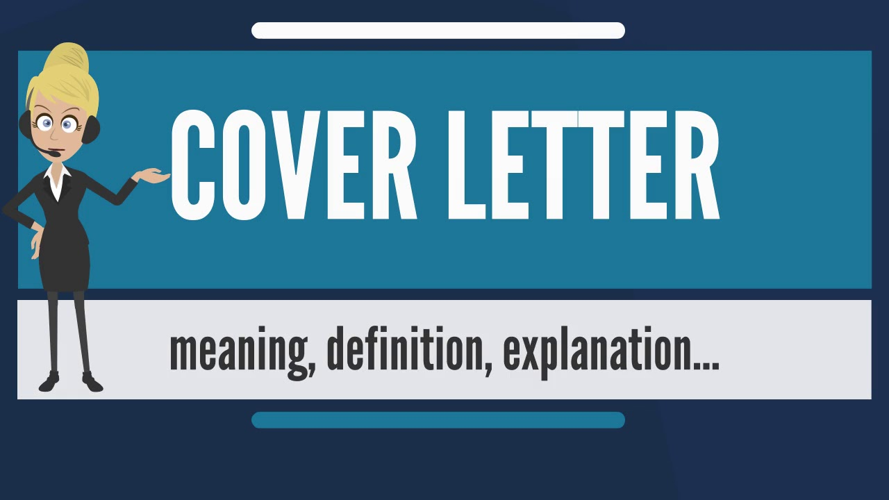 What Does COVER LETTER Mean Meaning Definition Explanation