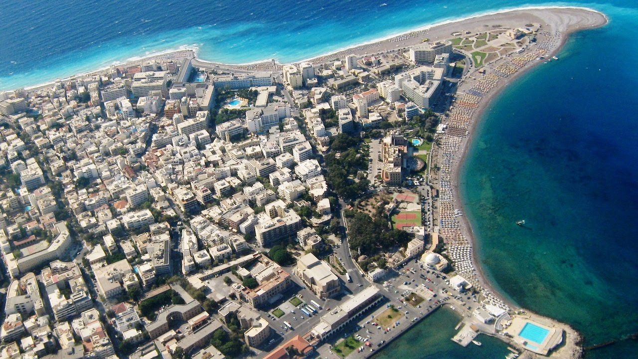 Rhodes New Town - Greece - YouTube