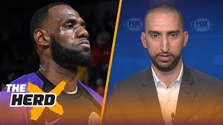 Nick Wright talks Mahomes comparisons to NFL legends, LeBron James results in GM surveys   THE HERD
