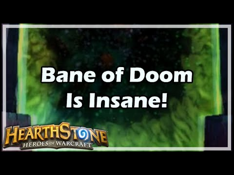 [Hearthstone] Bane of Doom Is Insane!