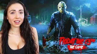 FRIDAY THE 13th GAME - HIDING FROM JASON!! thumbnail