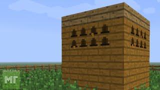 Как сделать пропитанный корпус и пасеку в minecraft (Ответ тут!)
