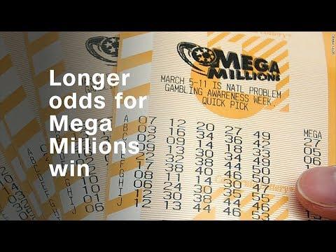 Longer odds for Mega Millions win