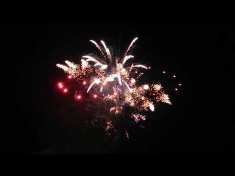Fireworks at the opening of «Jubalong», UKA13
