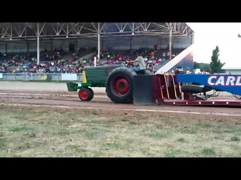 Carroll County Fair OH tractor pulls