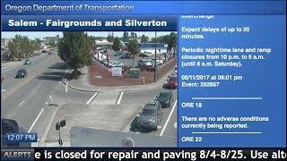 2017 solar eclipse traffic cams Oregon thumbnail