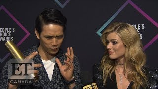 Harry Shum Jr, Katherine McNamara Gush Over People's Choice Win