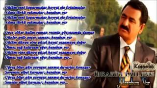 İbrahim Tatlıses   Hesabım Var Altyapı  Karaoke YENİ