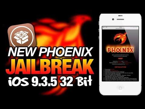 New PHOENIX JAILBREAK For iOS 9 3 5 32-bit Devices - Semi-Untethered  Jailbreak