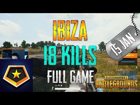 Ibiza | 18 Kills | PUBG