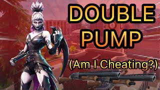*FORTNITE* Battle Royale Season 6 DOUBLE PUMP Gameplay!?? Is This Cheating??