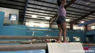 Laurie Hernandez is Back in Training & More