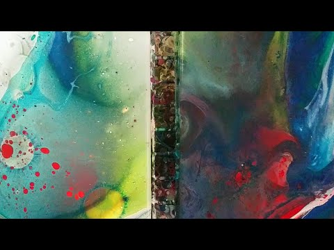 2 Ways You Can Use Alcohol in Acrylic Pours (besides drinking it)