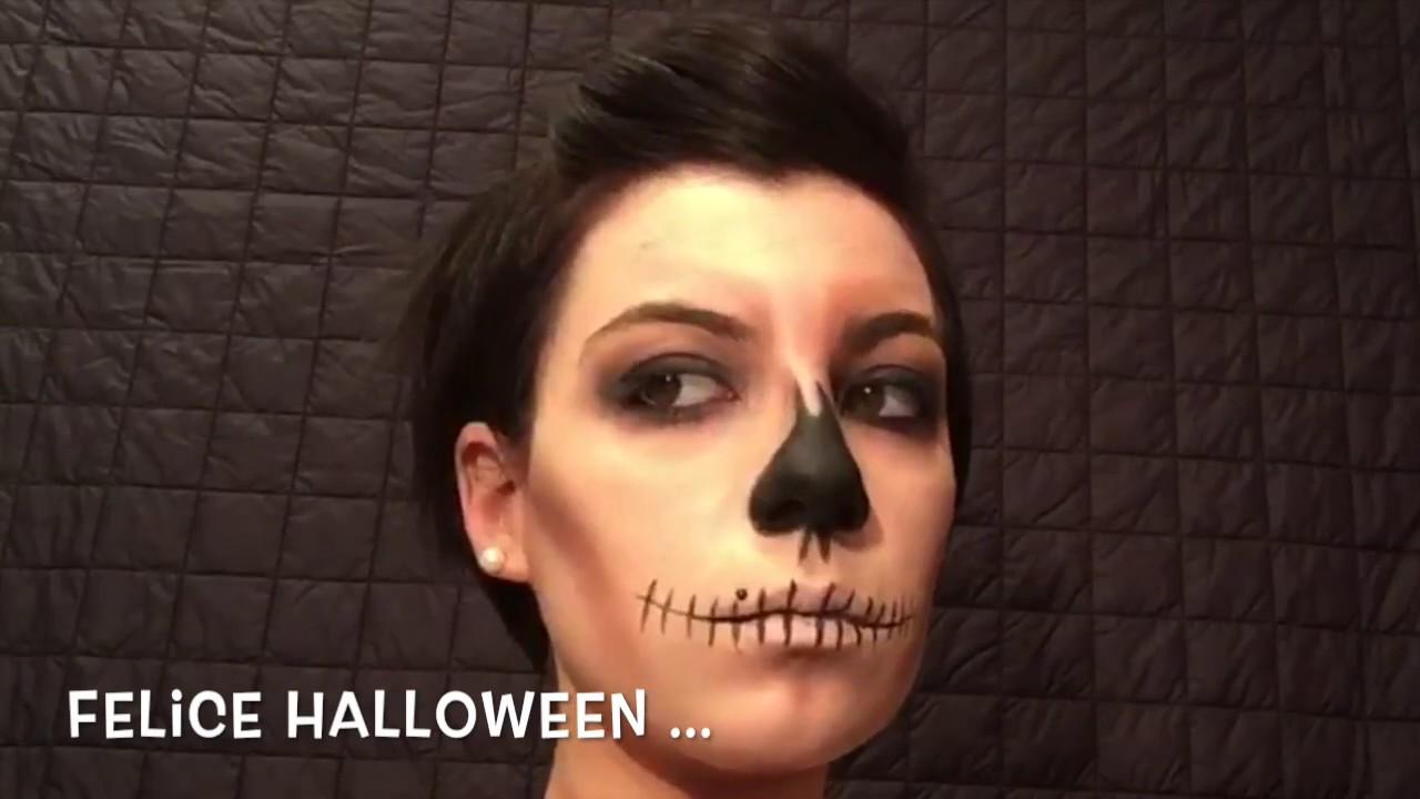Come effettuare un trucco per Halloween semplice e veloce ...