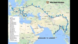 WDA|| Bangalore to London on Bike || India To UK || 21 countries || 23500km || World Ride