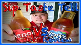 Redd's Apple Ale Vs Redd's Blueberry Ale Sip Taste Tell S1 E8 Beer Review