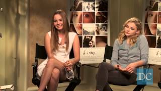 Interview with Chloë Grace Moretz, Liana Liberato, and Gayle Forman