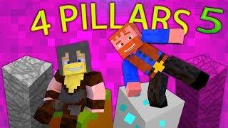 Minecraft: 4 Pillars Challenge (5) - Dumb & Dumber