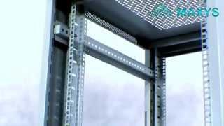 MAXYS - видеоинструкция по сборке напольного серверного шкафа(, 2015-03-12T17:18:18.000Z)