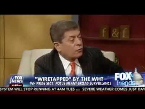 Judge Napolitano   the GCHQ was spying