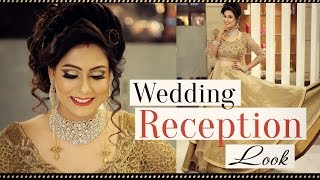 Wedding Reception Look | Makeup Tutorials for Wedding | Krushhh by Konica