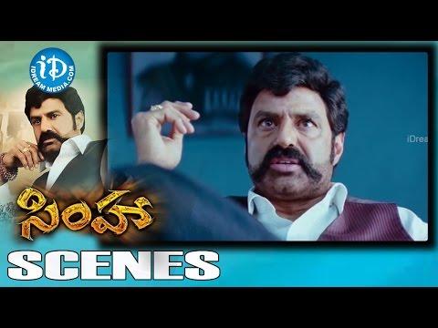 Simha Movie Scenes   Balakrishna Powerful...