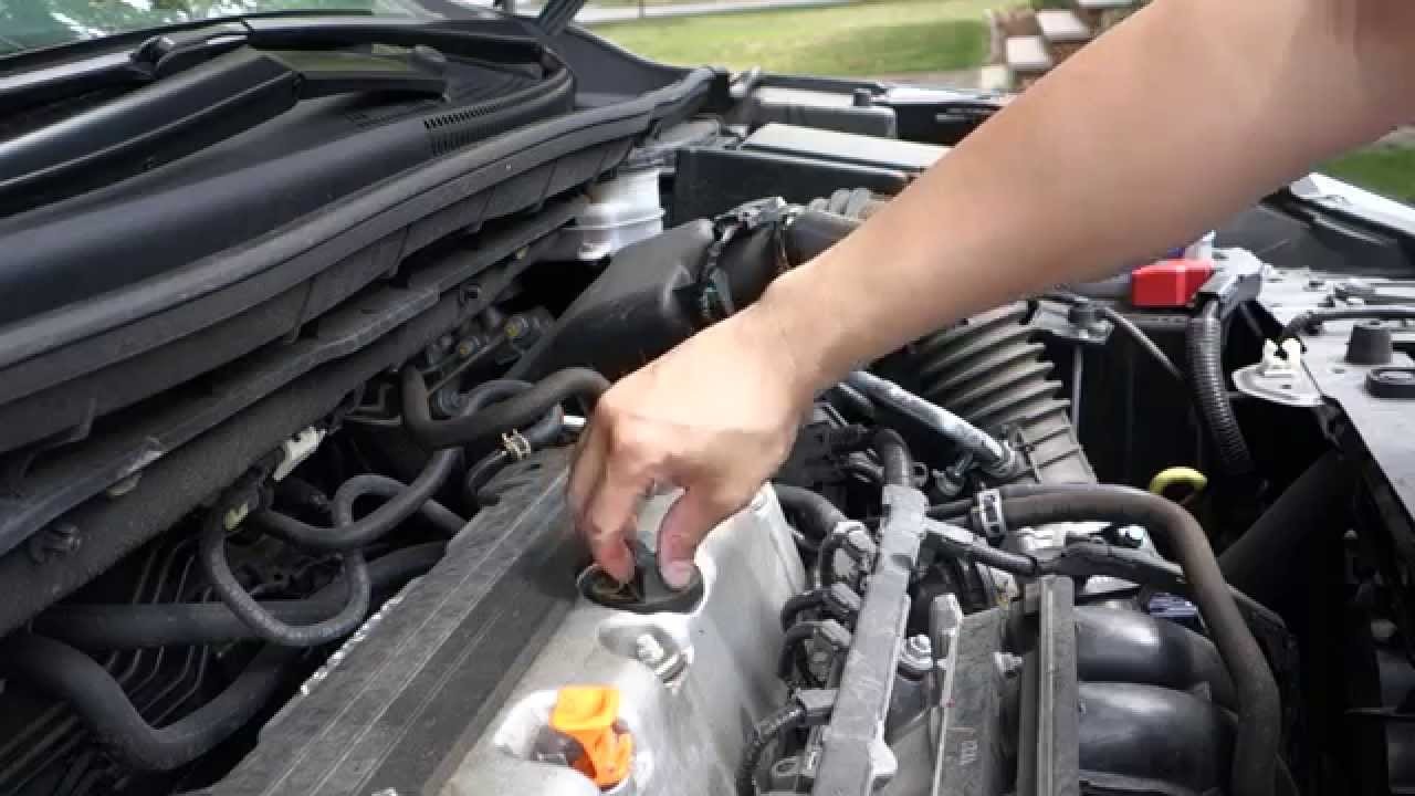 how to change honda crv engine motor oil youtube