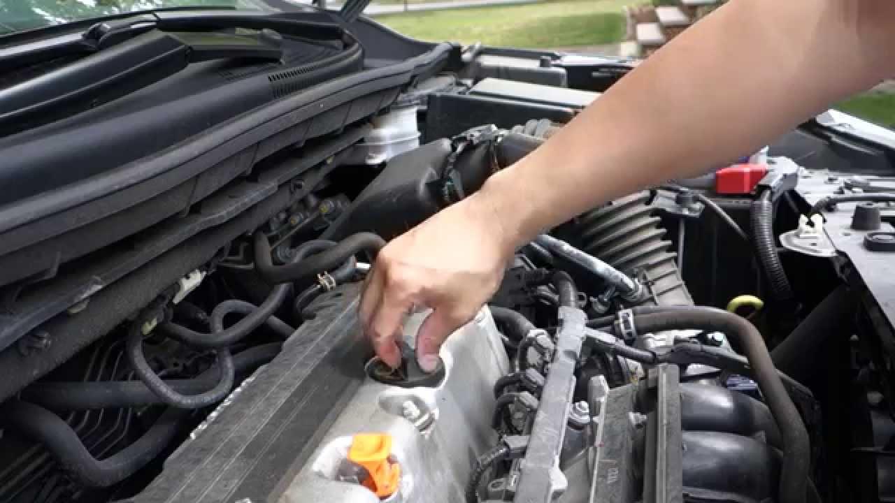 how to change honda crv engine motor oil [ 1280 x 720 Pixel ]