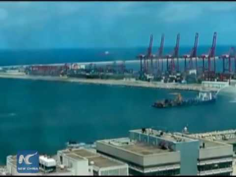 Sri Lanka, China to construct mega port city