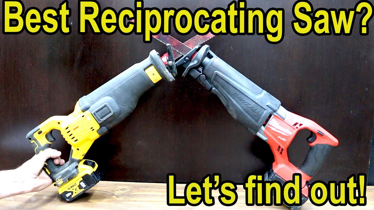 Which Cordless Sawzall (Reciprocating Saw) is Best?  Let's find out!  Milwaukee vs DeWalt, Makita