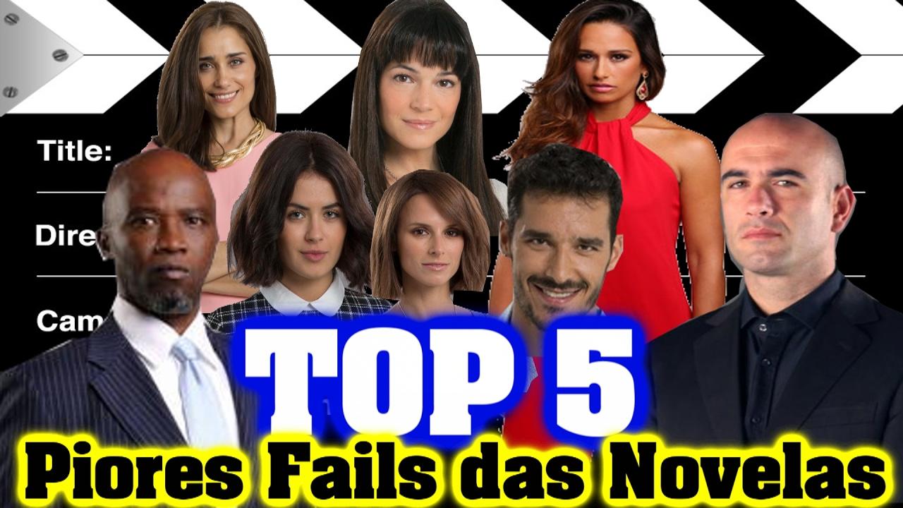 Top 5: Fails Novelas Portuguesas