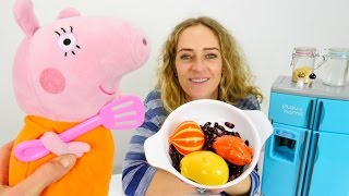 Die Wunderbox - Spielspaß mit #PeppaWutz - Mama Wutz kocht - Der Kühlschrank ist ja leer