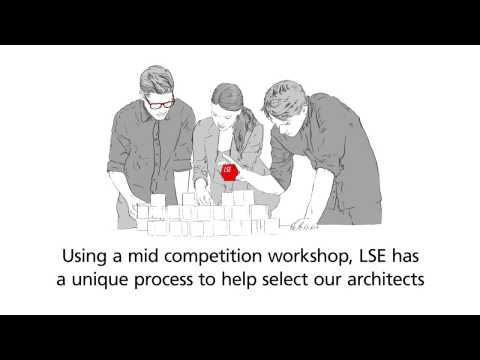 LSE RIBA Design competition for the Paul Marshall Building