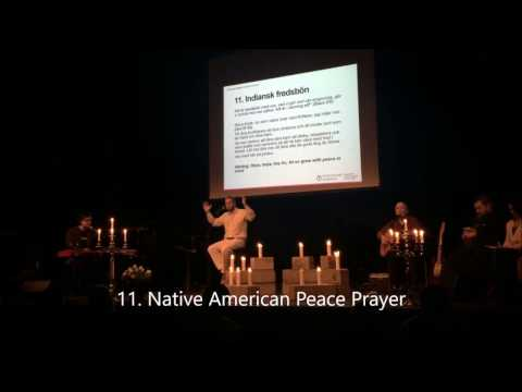 12 Peace Prayers with Peter Elmberg, Jan Eric & Lars Magnus (Live concert)