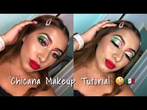 Chicana Makeup Tutorial 🤪🇲🇽 thumbnail