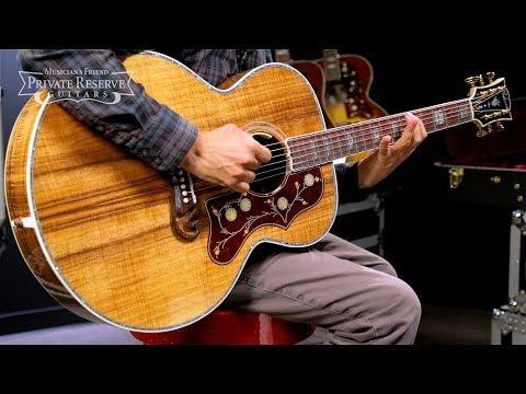 Gibson SJ200 Koa AcousticElectric Guitar
