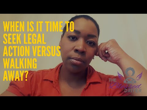 Should you seek legal action or leave the app based gig economy?