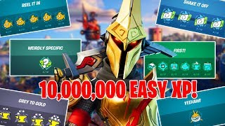 FORTNITE CHAPTER 2 SEASON 3 PUNCH CARD EXPLAINED! / FASTEST WAY TO COMPLETE PUNCH CARD! (EASY XP)