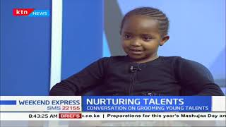 Meet Stacy Juma and Keren Wanjiru young gymnast and a model respectively   NURTURING TALENTS