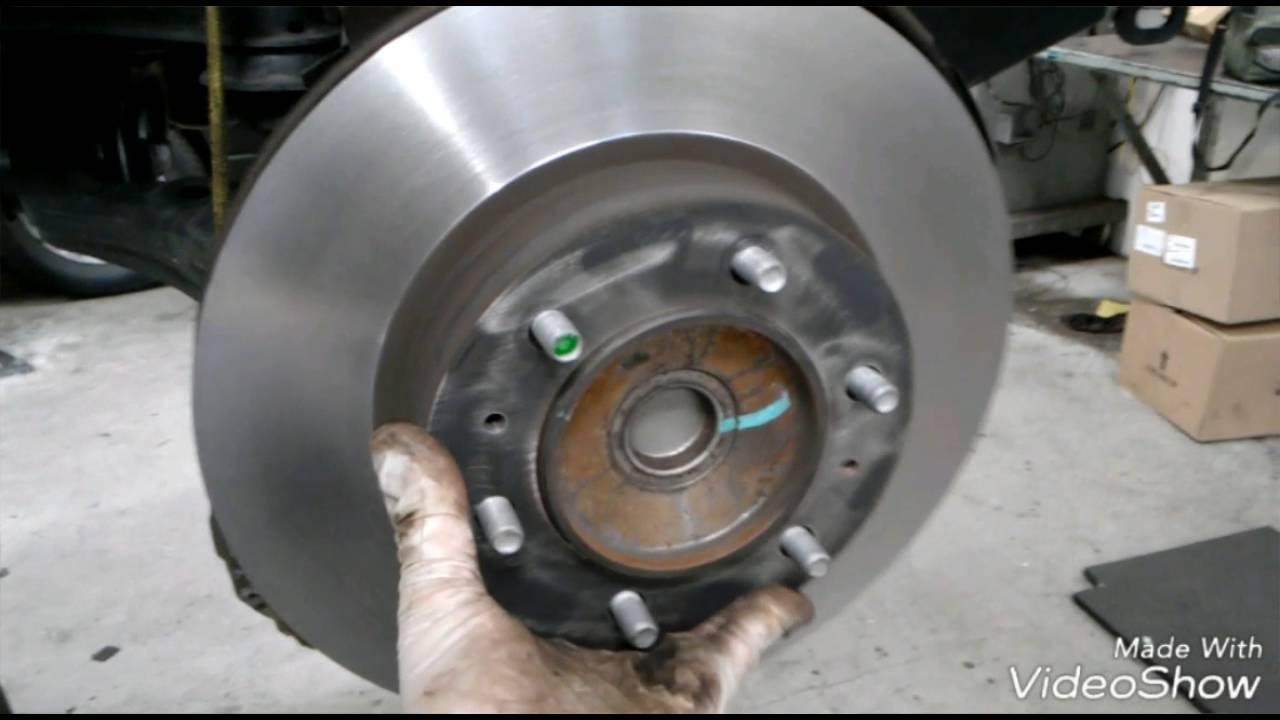 2012 2016 tacoma front brakes