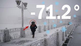 Dünyanın En Soğuk Şehri SICAKLIK -71.2 DERECE