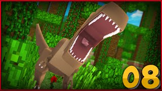 "Minecraft Jurassic World - Jurassic Park - RAPTORS!!! #8 - ""Jurassic Craft Roleplay'"